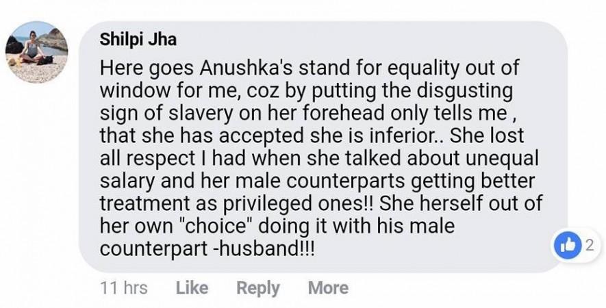 Anushka sindoor