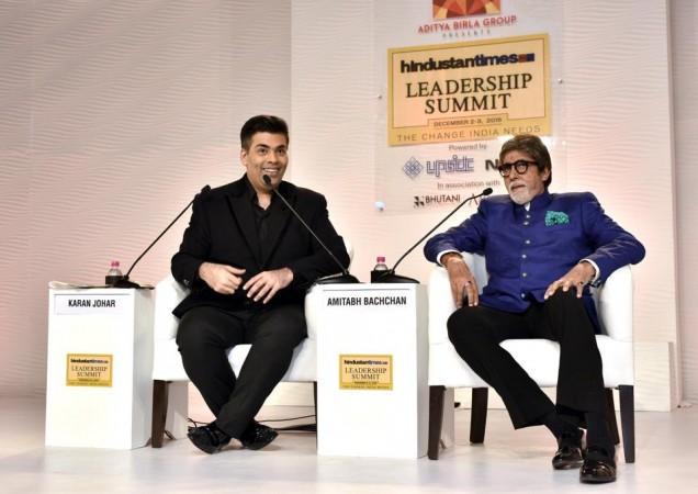 Karan Johar Amitabh Bachchan