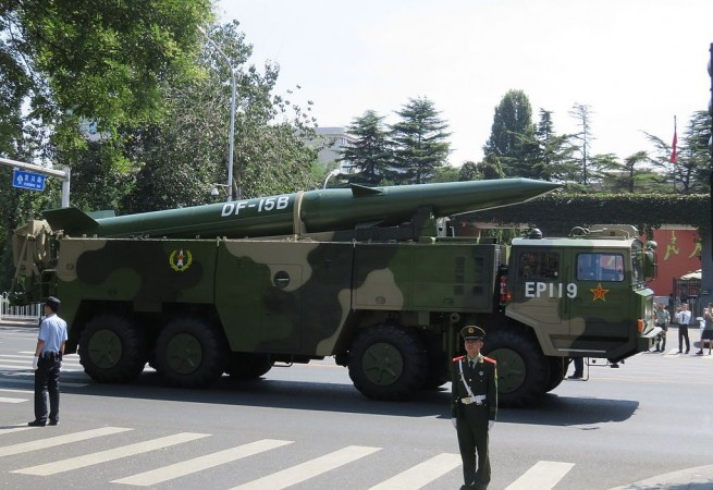 China hypersonic weapon system