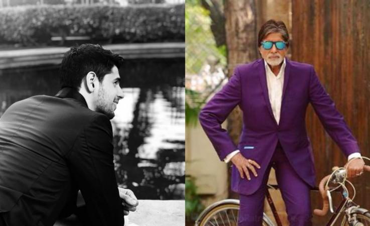 Sidharth Malhotra, Amitabh Bachchan