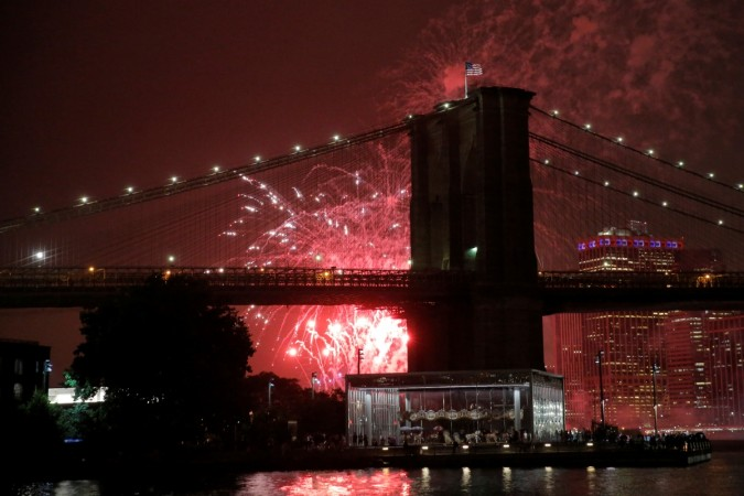 New York New Year's Eve fireworks