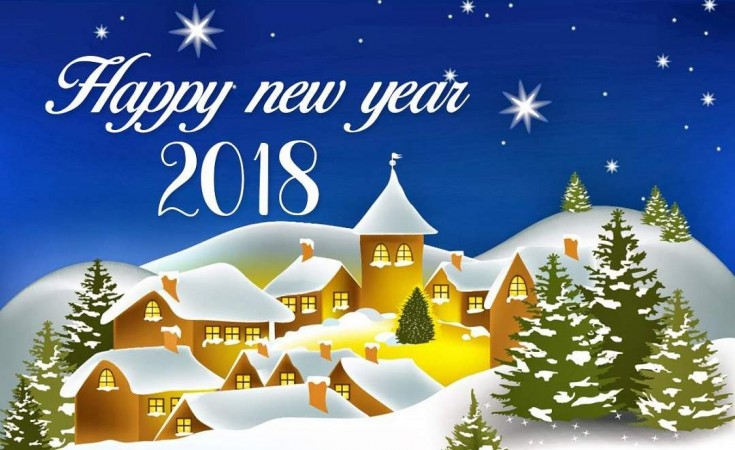 Happy New Year 2018