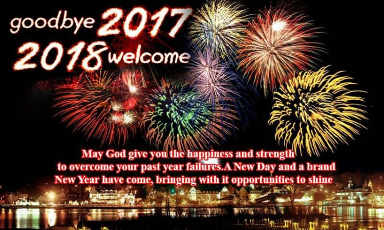 Happy new year 2018 40 wishes messages gifs greetings cards right click on the image to download this happy new year 2018 greetings card m4hsunfo