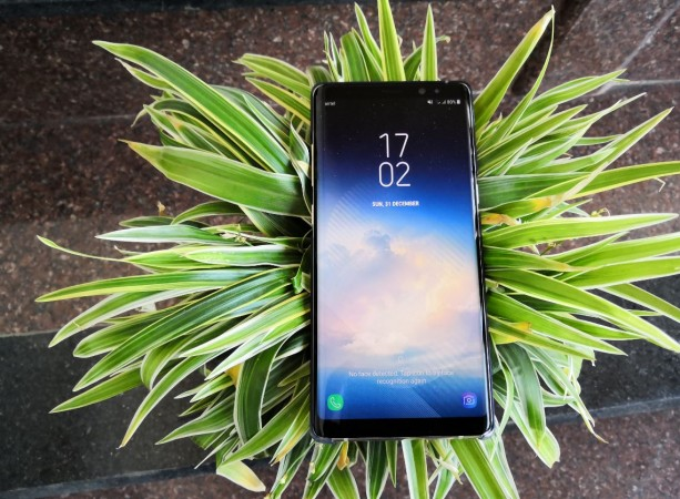 Samsung, Galaxy Note8, review, display, design, performance, battery, camera