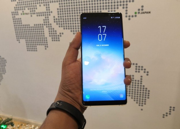 Samsung Galaxy Note 9 pass through the FCC