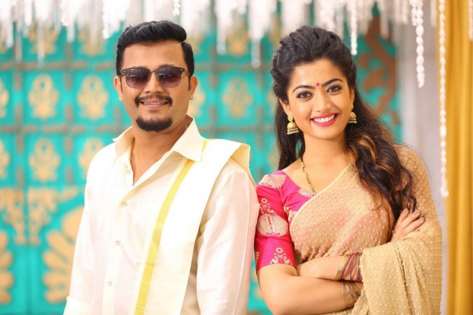 Ganesh and Rashmika Mandanna in Chamak