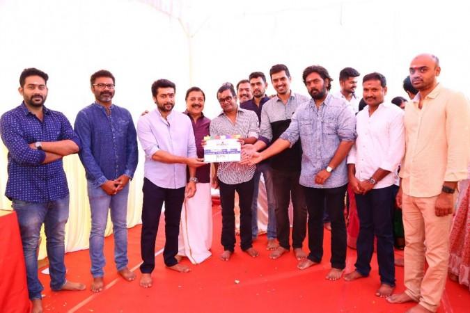 Suriya 36 Launched