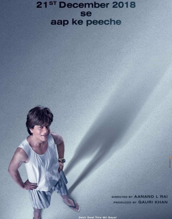 Shah Rukh Khan's Zero movie poster