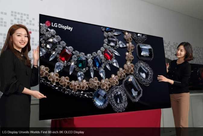 LG, 88-inch, 8K OLED TV, launch, CES 2018, price, specifications