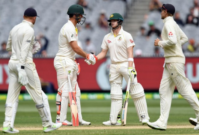 Steve Smith and Mitchell Marsh