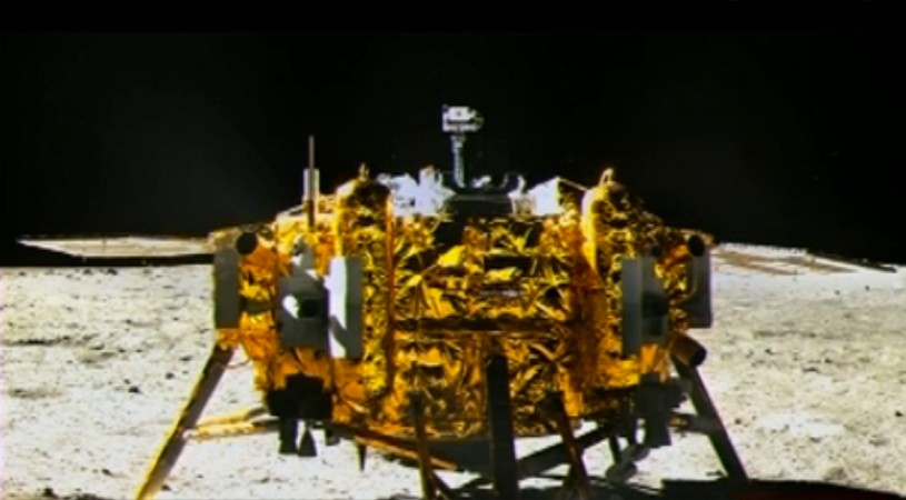 Chinese Chang'e 3 moon probe