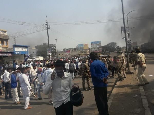Protests in Mumbai