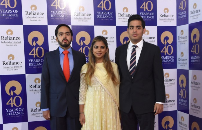 Ambani's children