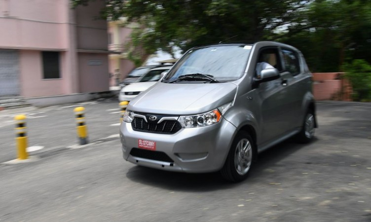 Mahindra e2o Plus electric car