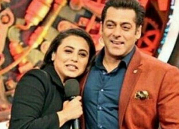 Salman Khan, Rani Mukerji on Bigg Boss 11