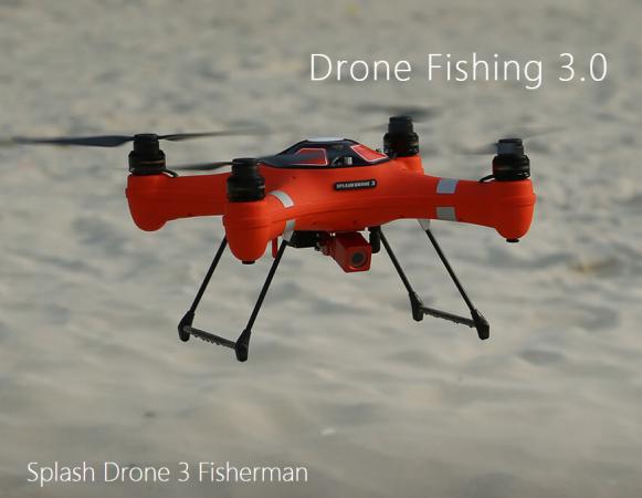 SwellPro Fisherman 3 fishing drone