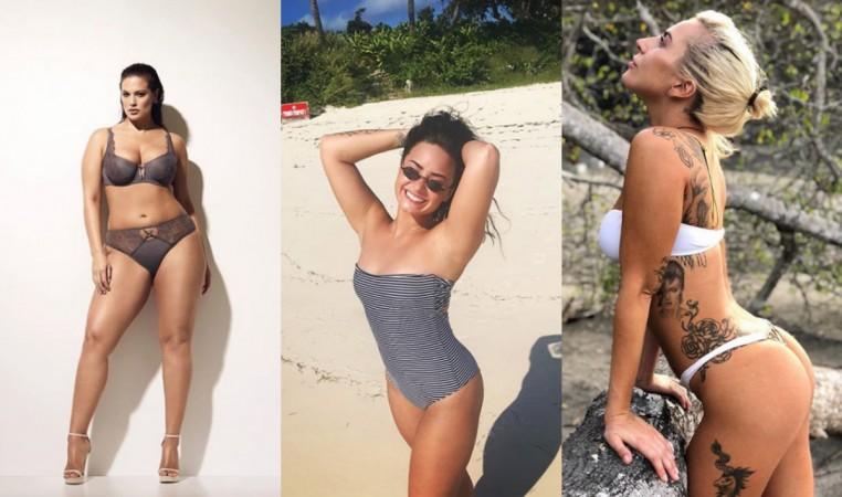 Ashley Graham, Demi Lovato and Lady Gaga