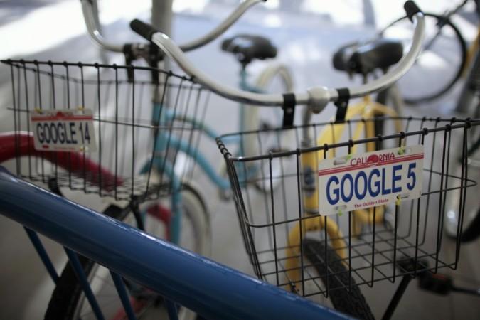 Google employee bicycle