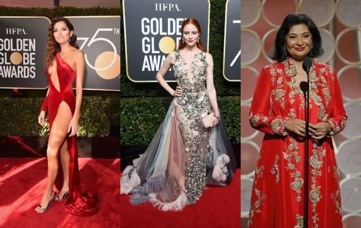 Golden Globes 2018 red carpet