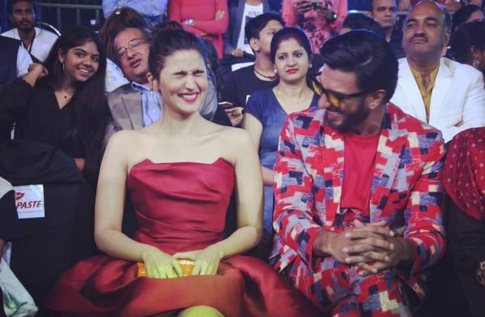 Alia Bhatt, Ranveer Singh at Nickelodeon Kids Choice Awards 2017