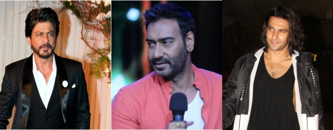 Ajay Devgn to lock horns with Shah Rukh Khan and Ranveer Singh
