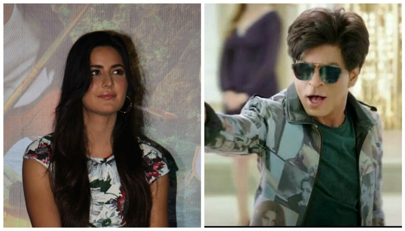 Katrina Kaif (left), Shah Rukh Khan in Zero (right)