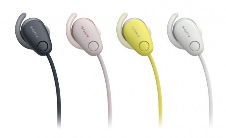 Sony WI-SP600N headphones