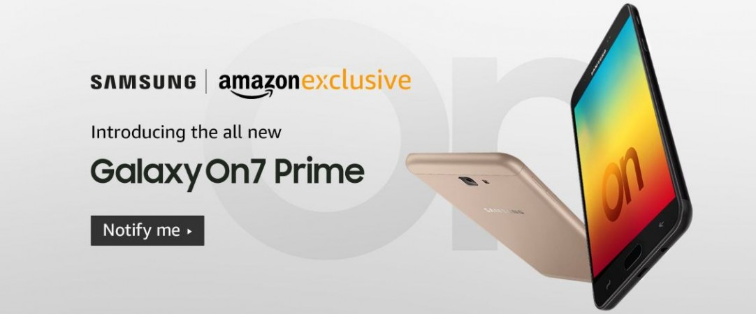 Samsung, Galaxy On7 Prime, specs,launch, price, India, Amazon offers