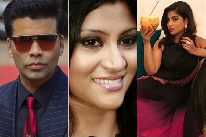 Karan Johar, Konkana Sen Sharma, RJ Malishka