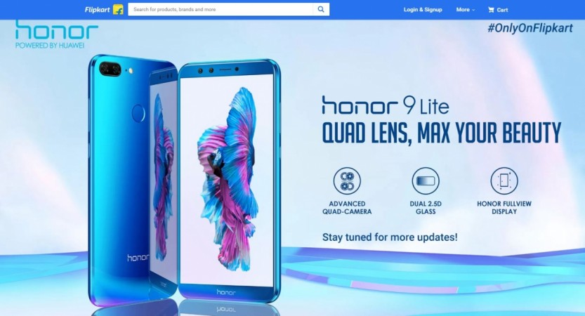 Honor 9 Lite India launch, price, specifications, Flipkart offers