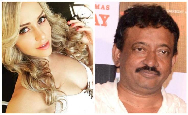 Mia Malkova and Ram Gopal Varma