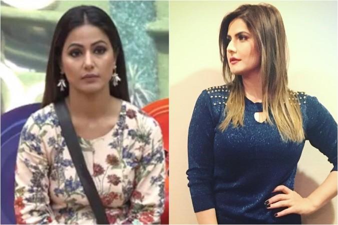 Zareen Khan, Hina Khan