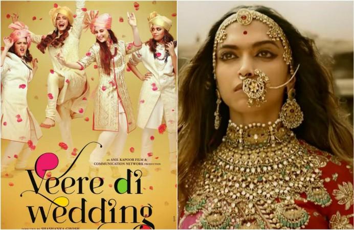 Veere Di Wedding, Padmaavat