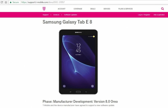 Samsung, Galaxy J7 Prime, Android Oreo, T-Mobile, software update