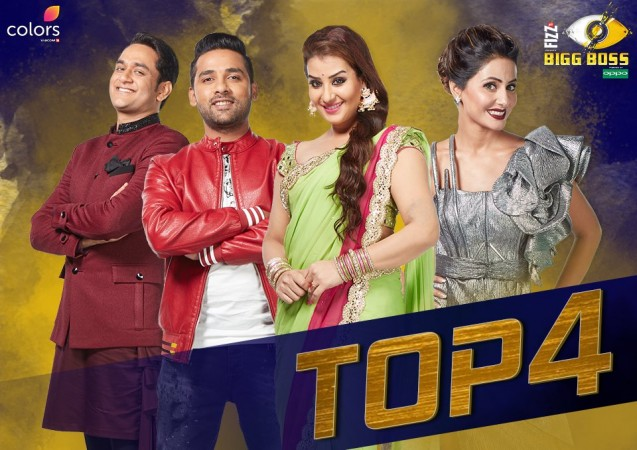 Bigg Boss 11 finalists