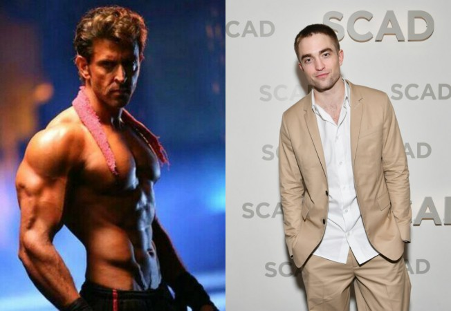 Hrithik Roshan, Robert Pattinson