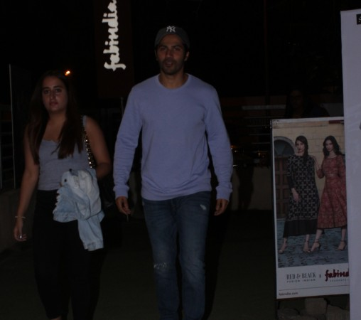 Varun Dhawan, Natasha Dalal on a movie date