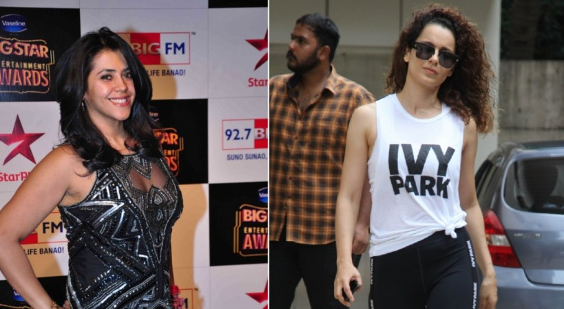 Ekta Kapoor and Kangana Ranaut