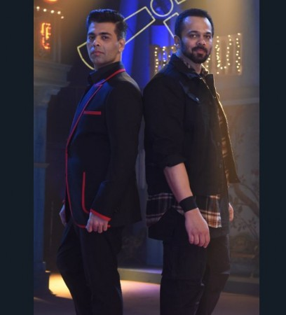 India's Next Superstar judges Karan Johar and Rohit Shetty