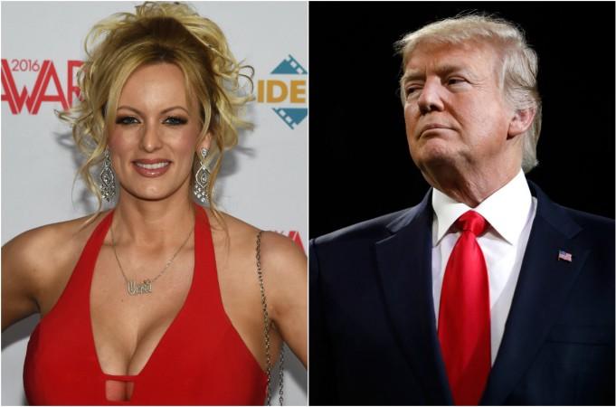 Stormy Daniels; Donald Trump