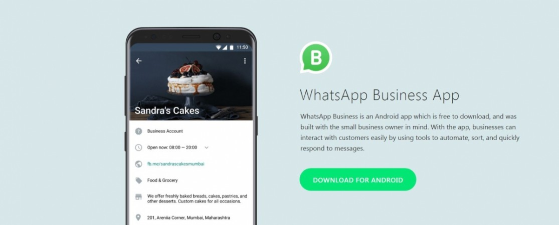 WhatsApp Business, logo,Google Play store, Android app