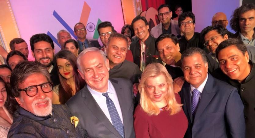 Israel PM Benjamin Netanyahu Oscar moment with Bollywood celebs