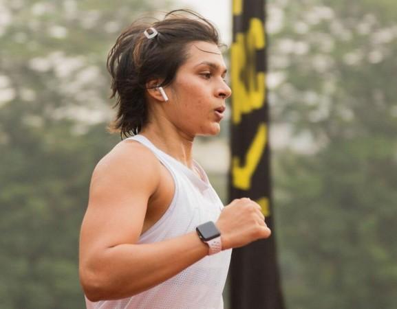 Urmi Kothari, fitness expert,Apple Watch, Mumbai Marathon