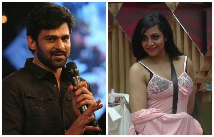 Prabhas and Arshi Khan
