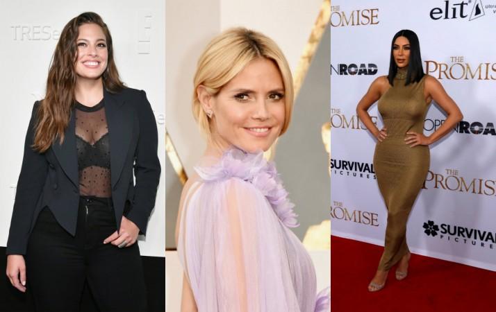 Ashley Graham, Heidi Klum, Kim Kardashian