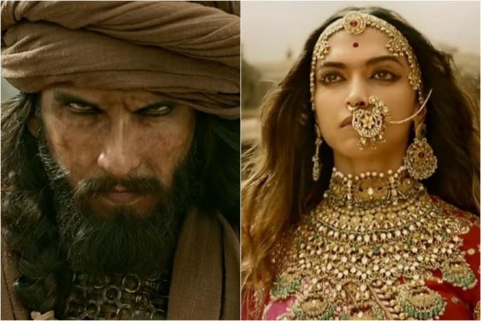 Ranveer Singh and Deepika Padukone in Sanjay Leela Bhansali's Padmaavat