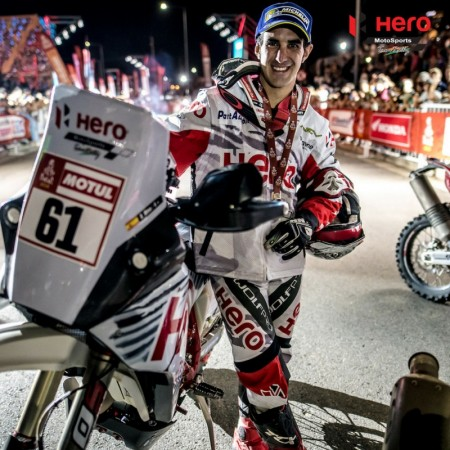 Oriol Mena, Hero MotoSports