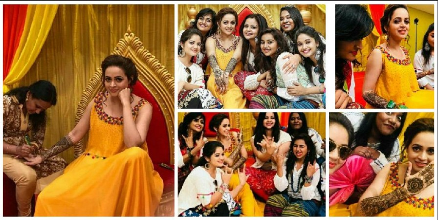 Bhavana-Naveen Marriage Pics