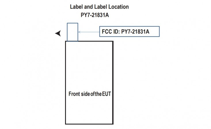 New Sony handset known by the name FCC ID, PY7-21831A as seen on FCC