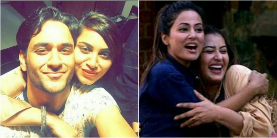 Vikas Gupta, Arshi Khan, Hina Khan, Shilpa Shinde